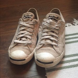 Jack Purcell Cream Sneakers 8